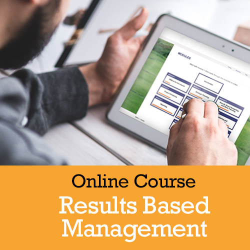 Online course in results-based management