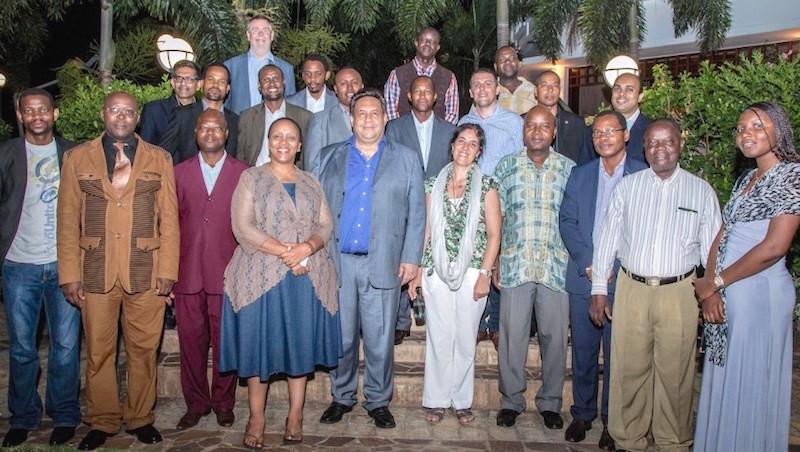 Mozambique group photo