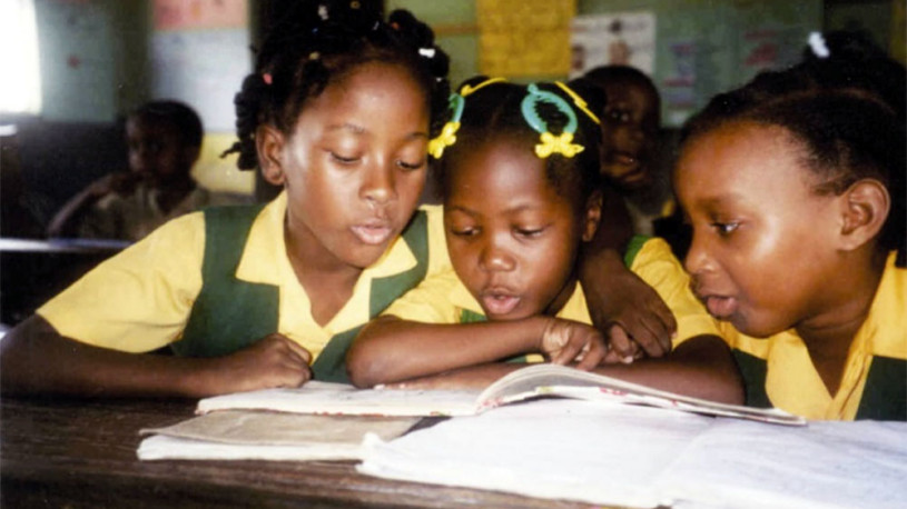Schoolchildren in Jamaica