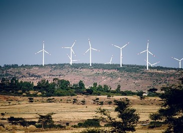 Adam wind farm Ethiopia