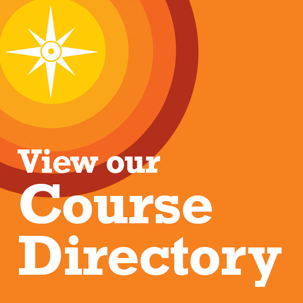 View our Course Directory
