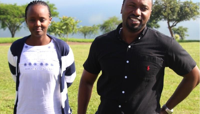 Arthur Byabagambi and Zainab Musoni - Co facilitators from Research Moguls (REMO).