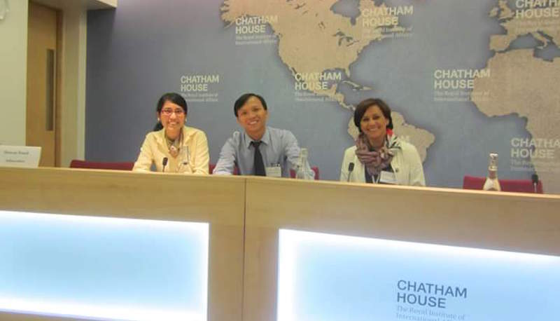 Chatham House IFG visit