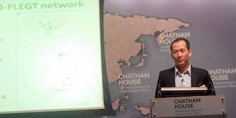 Giangh Phan at Chatham House