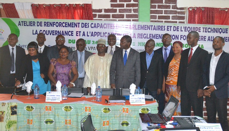 CIDT and its partner FODER provide capacity building support to Cameroonian lawmakers