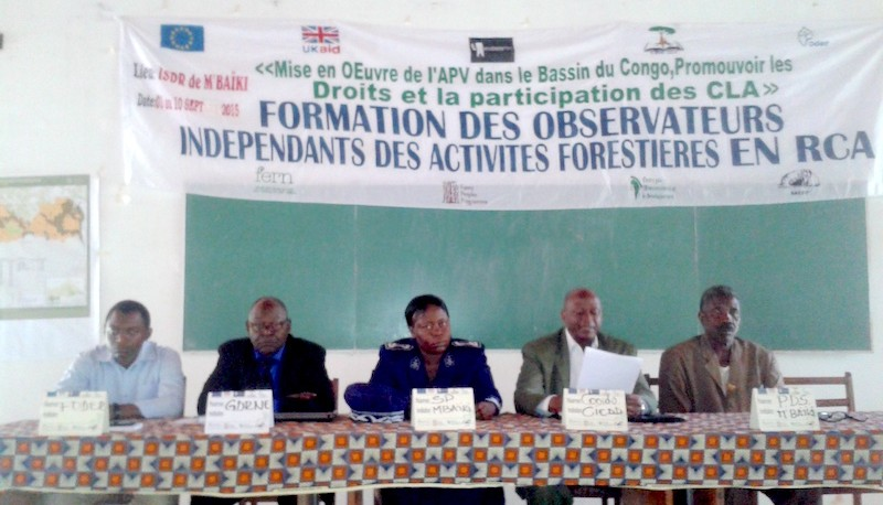 Forest monitoring events