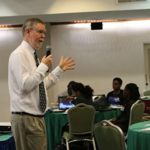 Philip Dearden leads workshop
