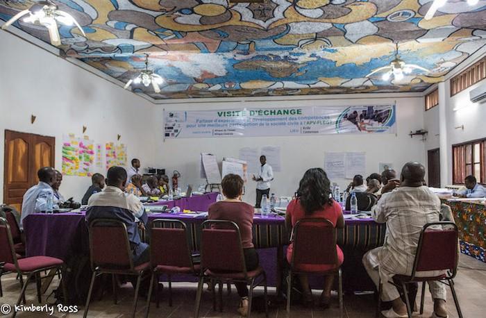 Exchange visit workshop in Kribi