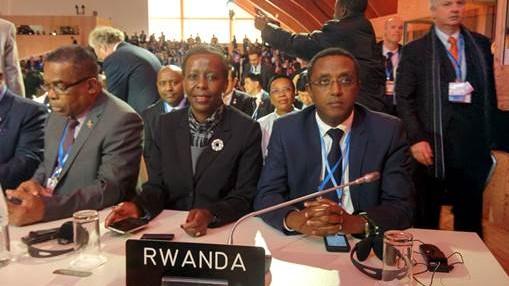 COP21 Rwanda delegation