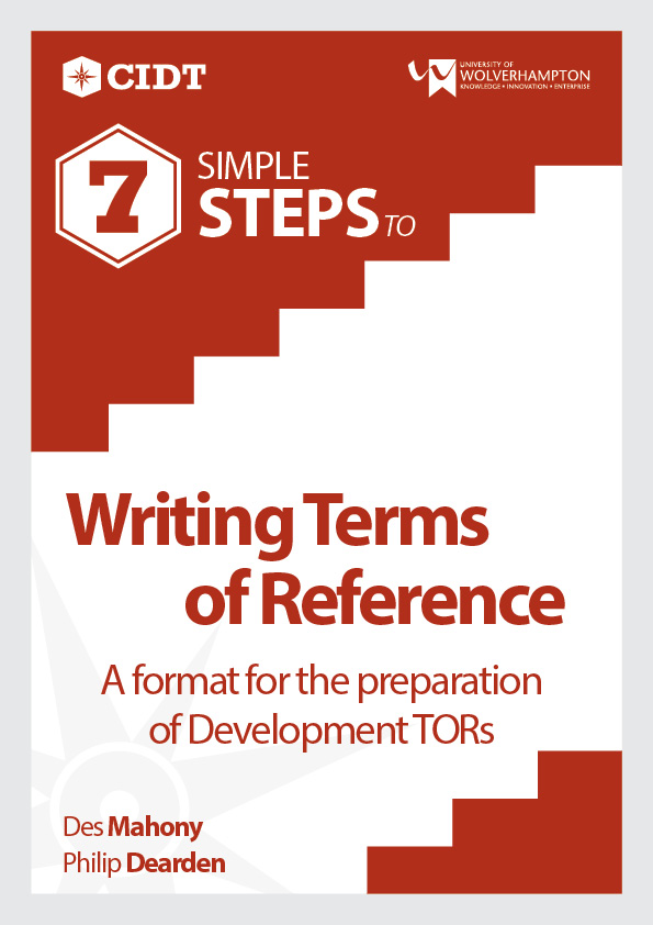 Writing Terms of Reference