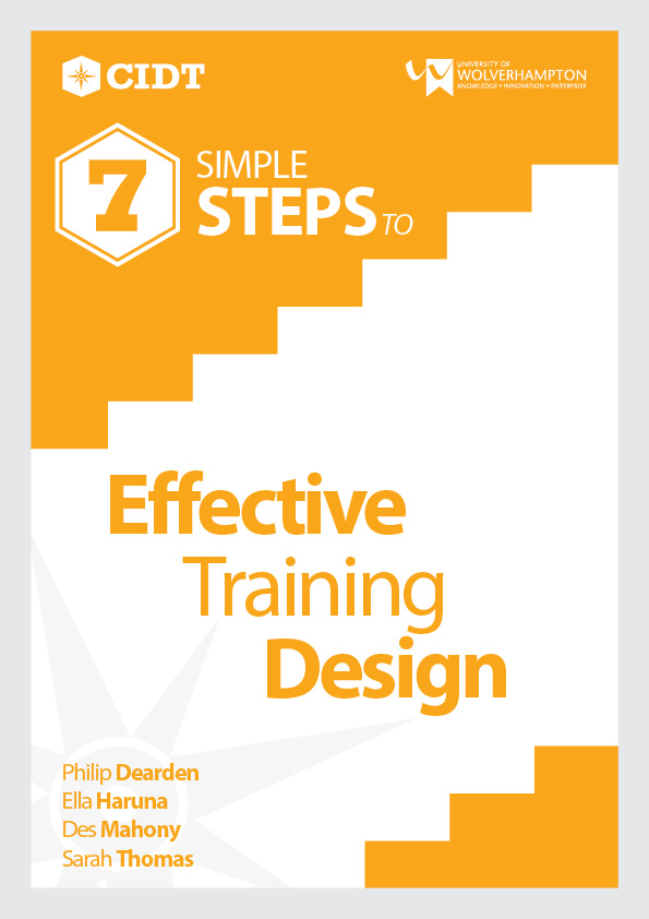 Effective Training Design