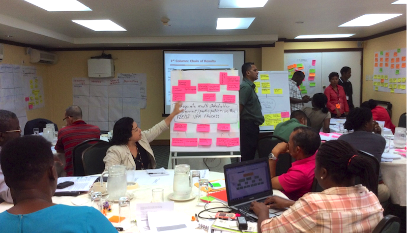 Proposal writing workshops in Guyana