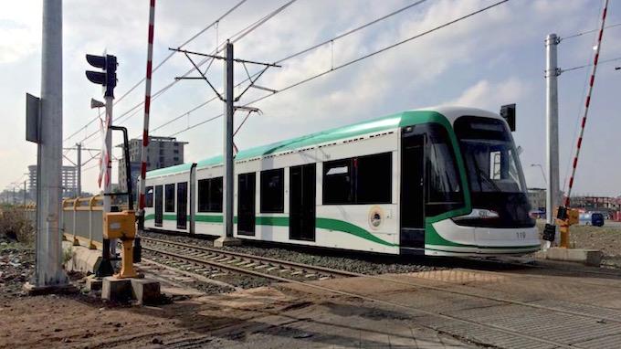 Ethiopia electric train