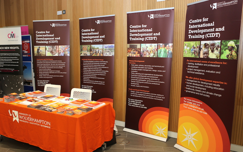 The CIDT stand. Photo: Kim Kane.