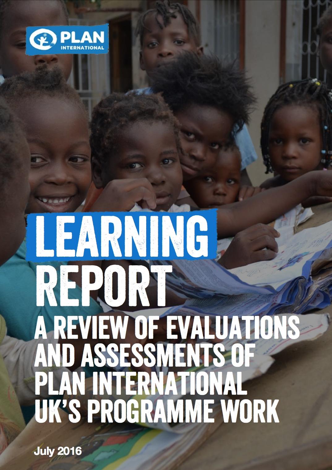 Plan UK report cover