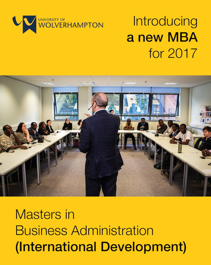 MBA International Development