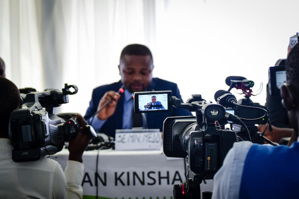 H.E Atis Kabongo Kalonji, the Minster of Environment and Sustainable Development
