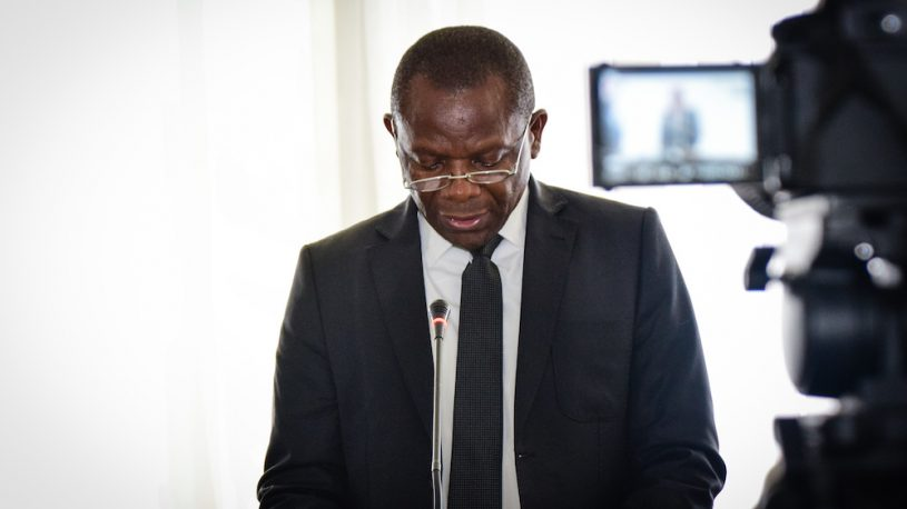 Mr Essylot Lubala, Observatoire de la Gouvernance Forestière (OGF)