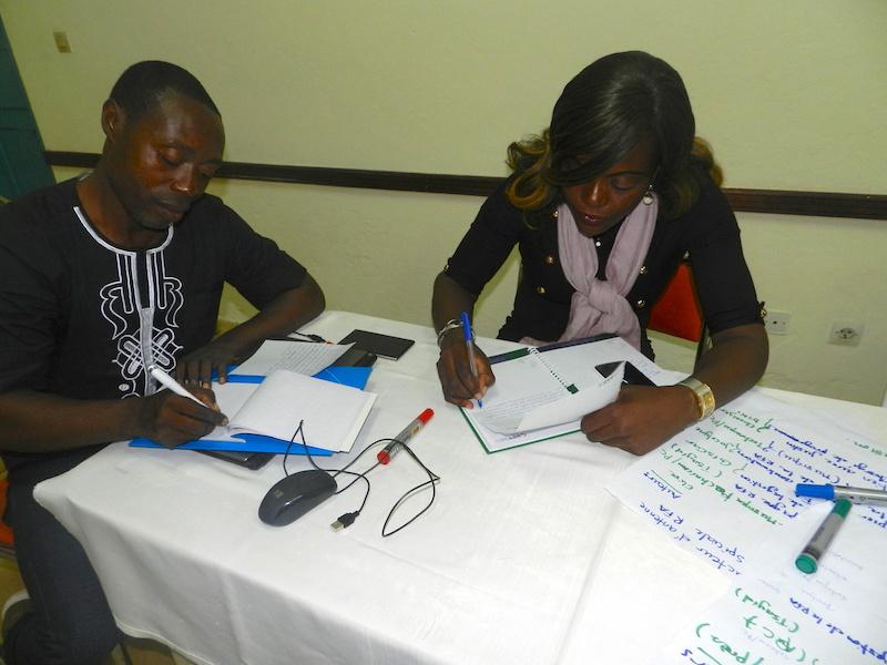 L'atelier de réflexion et de renforcement des capacités des journalistes