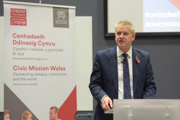 Civic Mission Summit in Cardiff