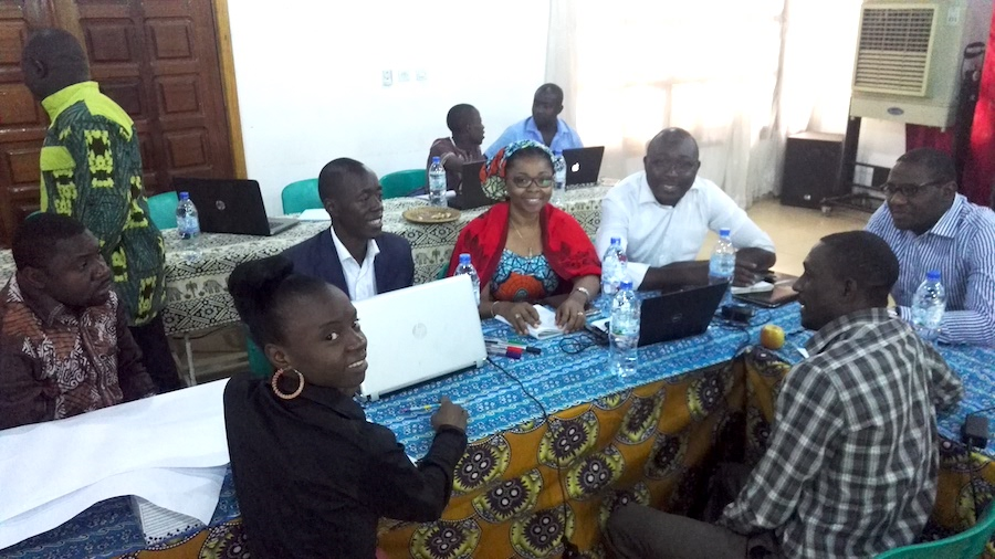 CV4C project planning meeting in Bangui