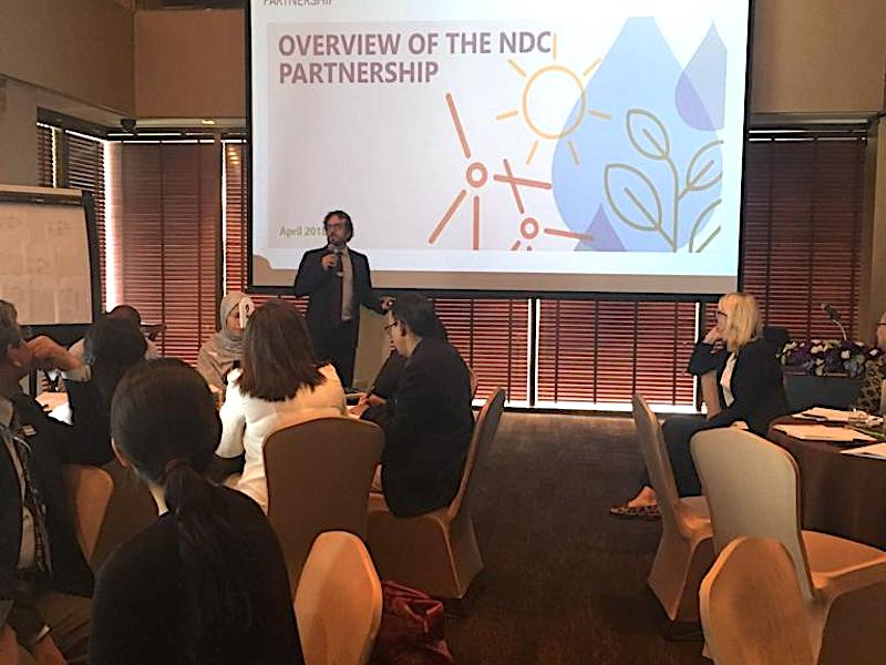 Bangkok NDC Partnership event