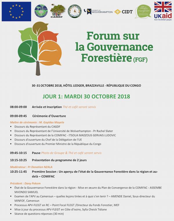 FGF Agenda