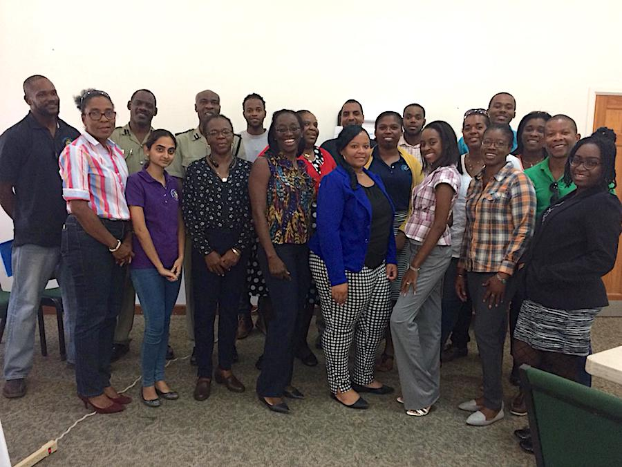 PCM training in Belize and Montserrat