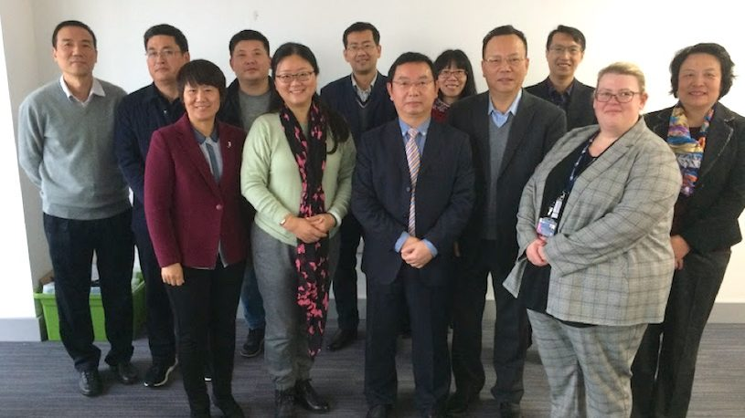 Chinese delegation visits University