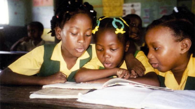 Schoolchildren in Jamaica