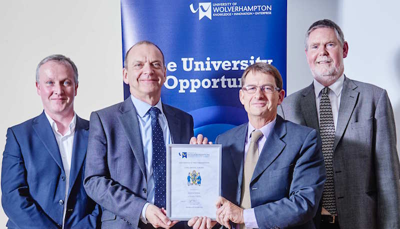Des Mahony celebrates 25 years with the University
