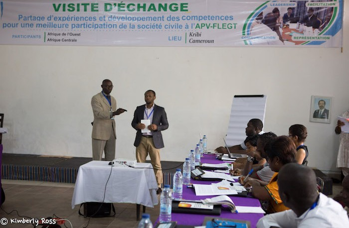 Exchange visit workshop in Kribi