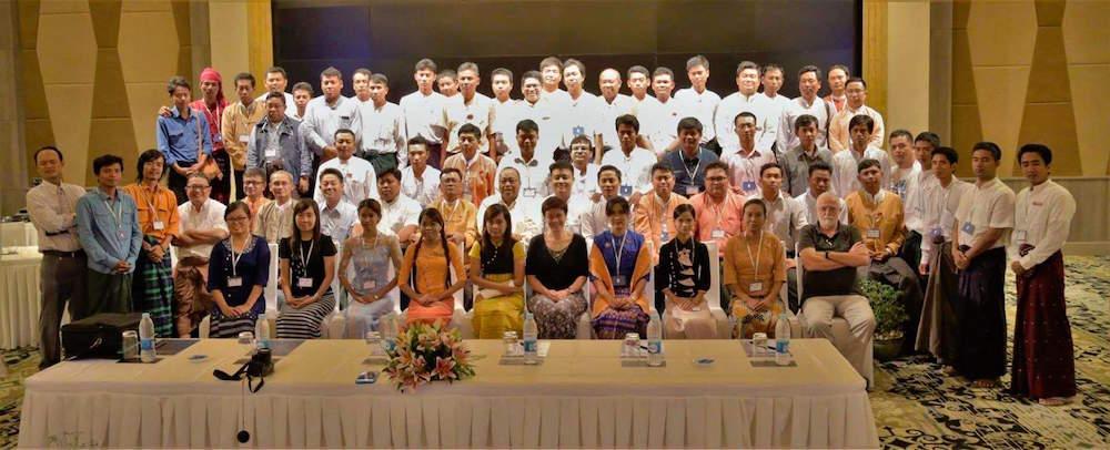 Myanmar group photo