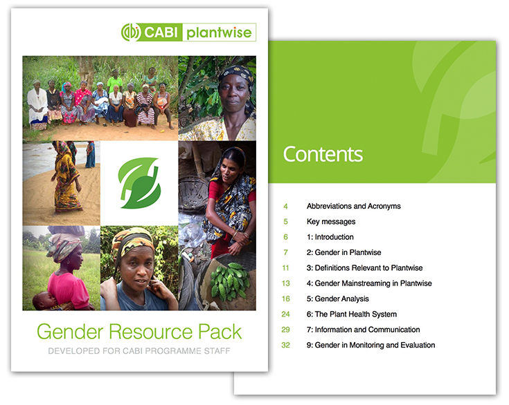 CABI gender handbook completion