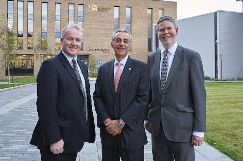 Micael Barden, Malcolm Preston and Philip Dearden