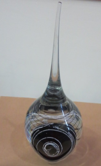Crystal Glass by Tim Boswell, University of Wolverhampton. http://www.timboswellglass.com