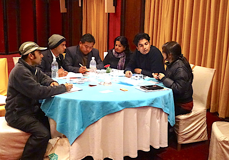 Green growth training in Nepal
