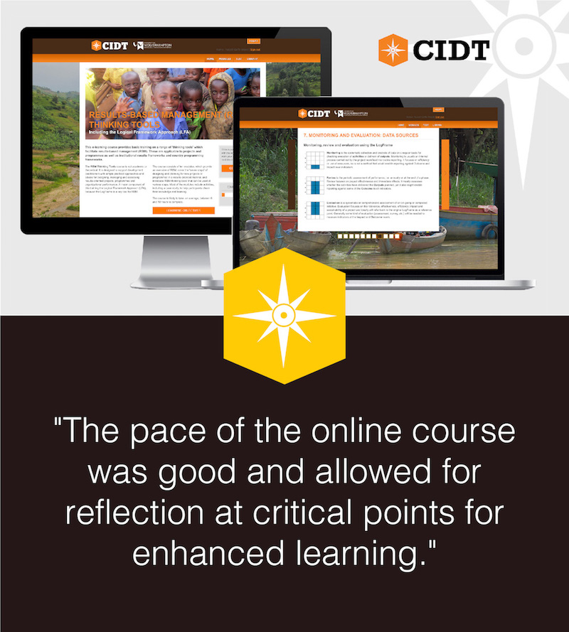Results Based Management Online Course Testimonial