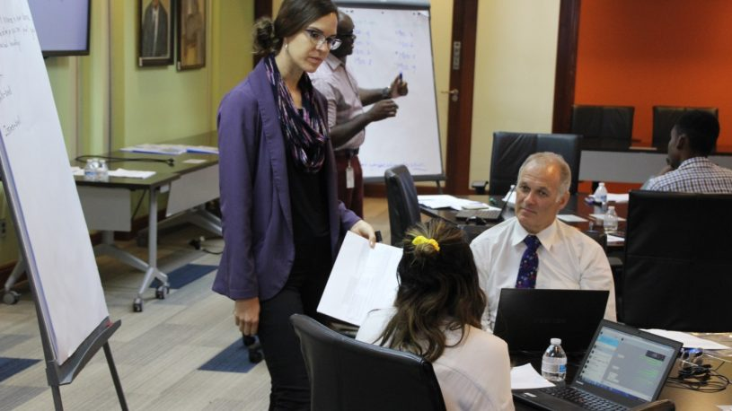 Curriculum development workshop with CB