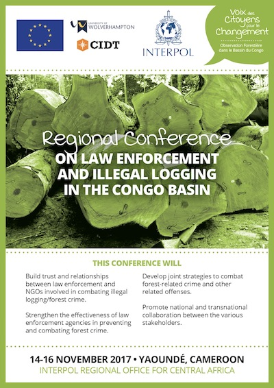 Interpol Regional Conference on law enforcement and illegal logging in the Congo Basin