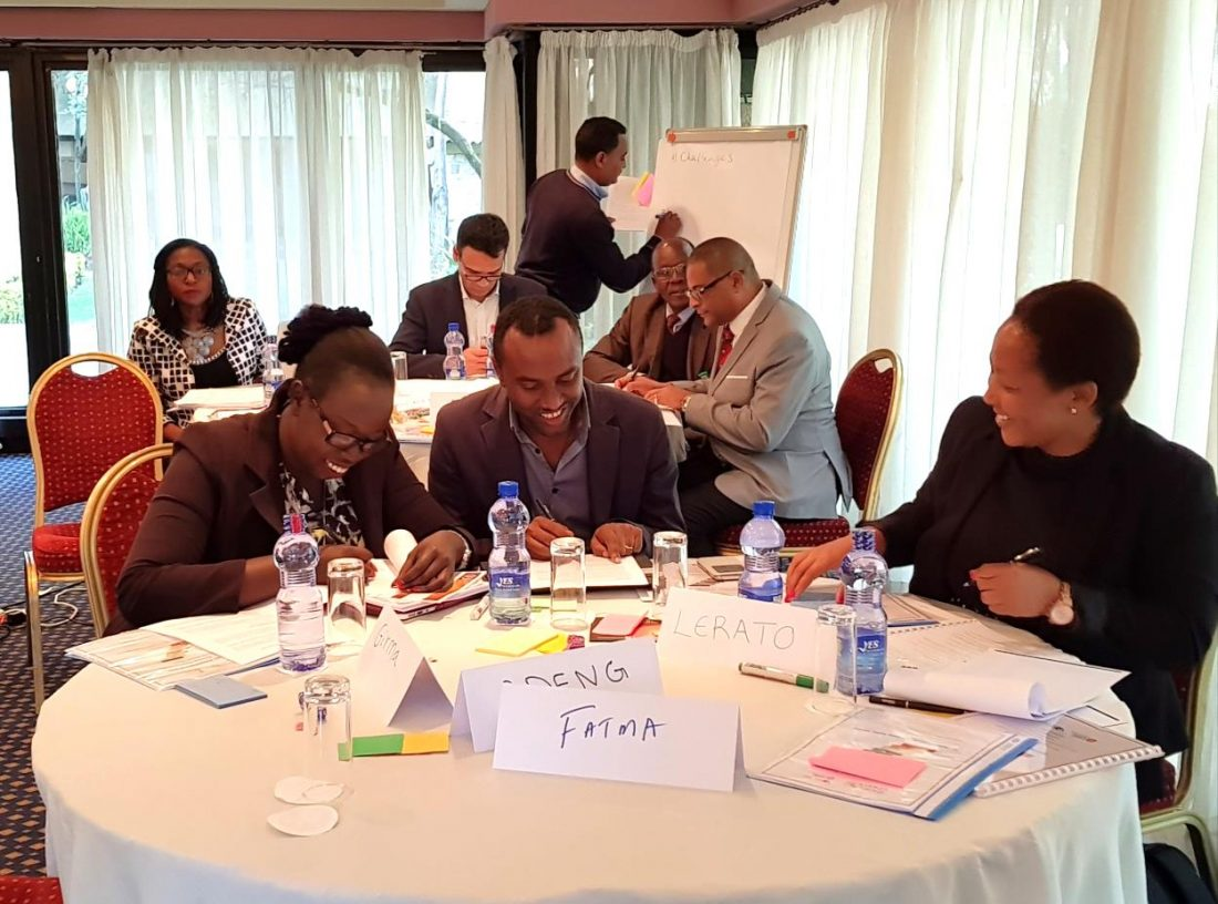 Strategic Thinking Tools workshop with African Union staff