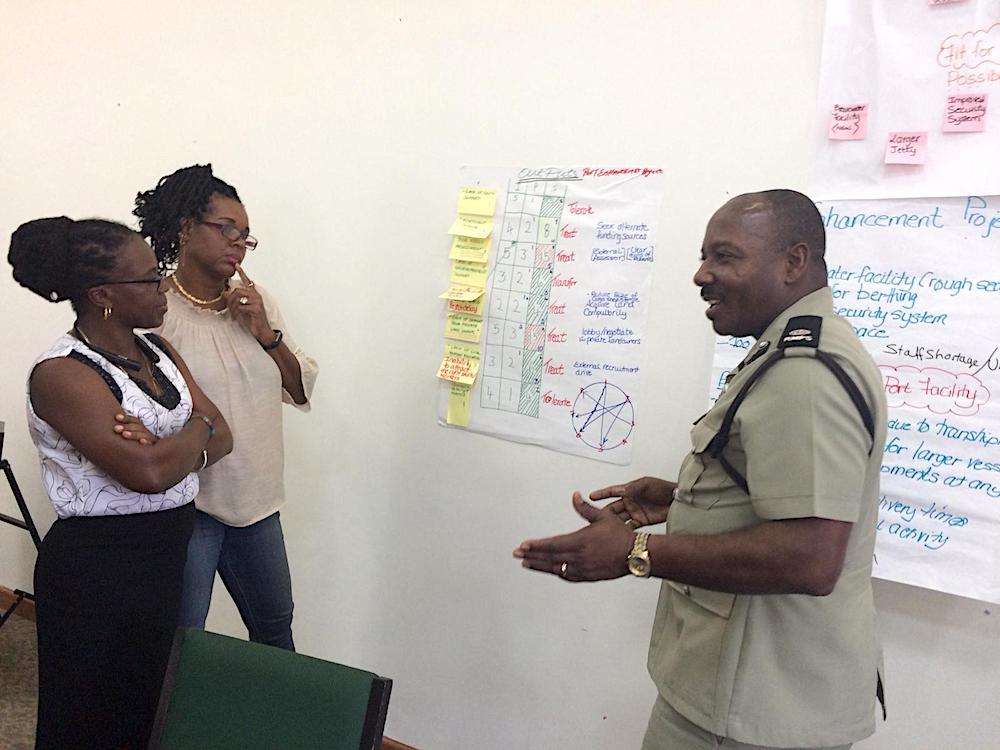 PCM training in Belize and Montserrat