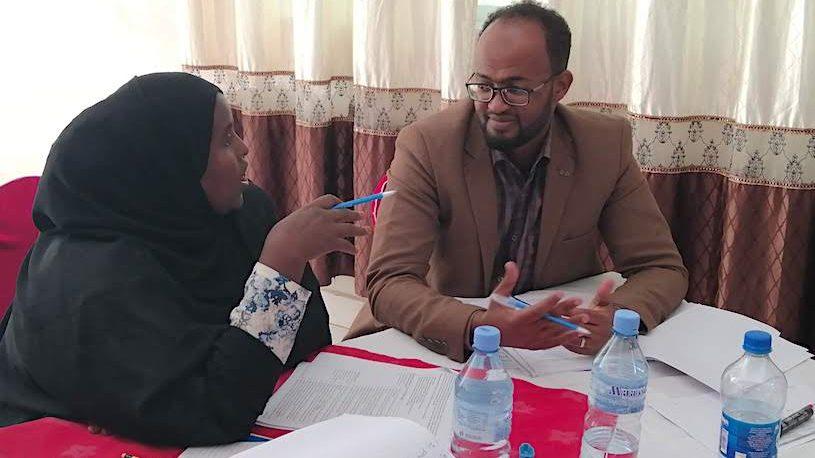 Workshop in Somaliland