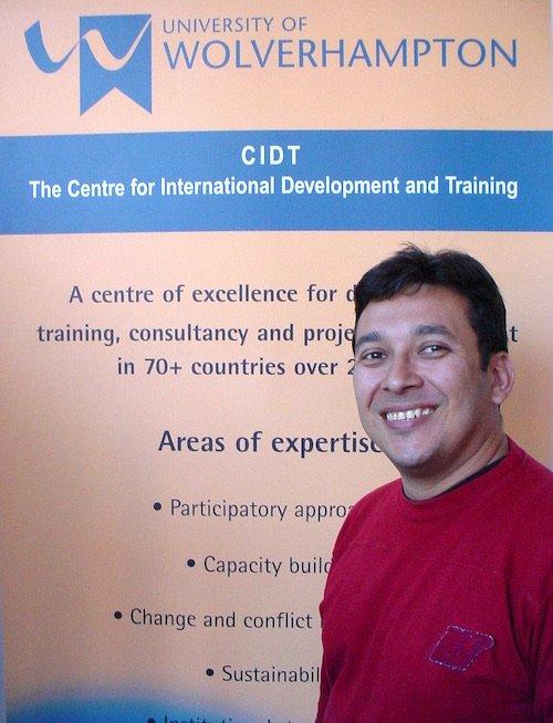 Marcel Botelho at CIDT