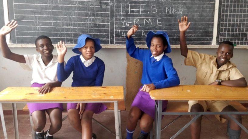Zimbabwe school children